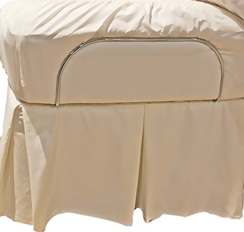 Gotcha Home Decorative Bed Skirts For Adjustable Bed Systems Queen Ecru front-903006