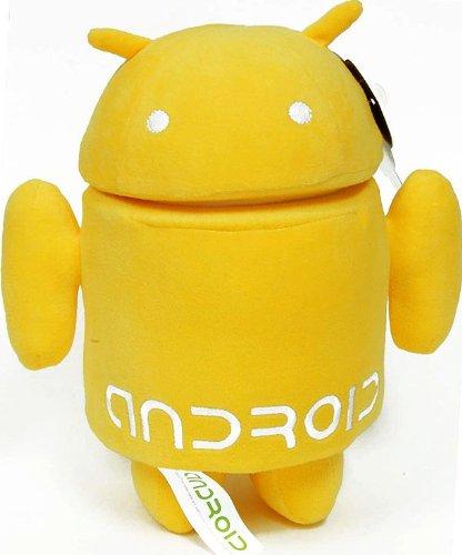 Android 10 Plush Yellow