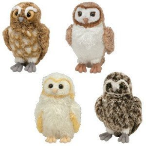 Ty Legend of the Guardians The Owls of GaHoole Set of 4 Beanie Babies