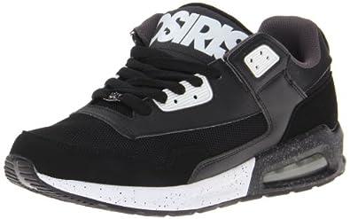 Osiris Uprise, Chaussures de skateboard homme - Noir (Blk Wht Cha), 45 EU (11 US)