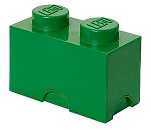 Lego Storage Brick 2 Green