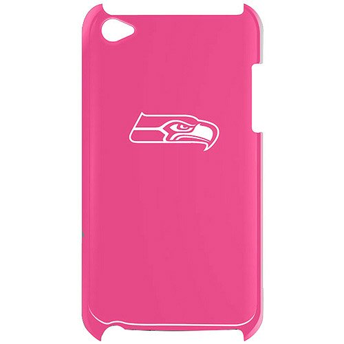 Tribeca iPod touch 4th Generation Solo Shell Varsity Jacket, Seattle Seahawks, Pink at Amazon.com