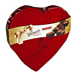 Whitman\'s Valentine Sampler Assorted Fine Chocolates, 13.2 Ounce
