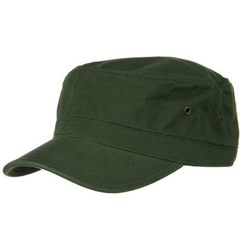 Washed Military Hat-Army Olive W32S37C