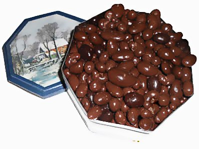 The Old Grist Mill (3 pounds of premium chocolate covered nuts)