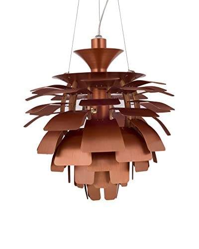 "Modway Petal 24"" Chandelier, Copper"