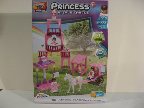 Block Tech Princess Fairytale Castle