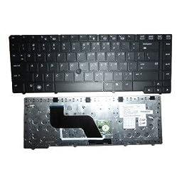 New US Laptop Keyboard Black for HP EliteBook 8440p 8440w 594052-001 SG-34500-XUA, PK1307D3A00 w/point