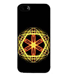 Vizagbeats Atomic Energy Back Case Cover for APPLE IPHONE 4