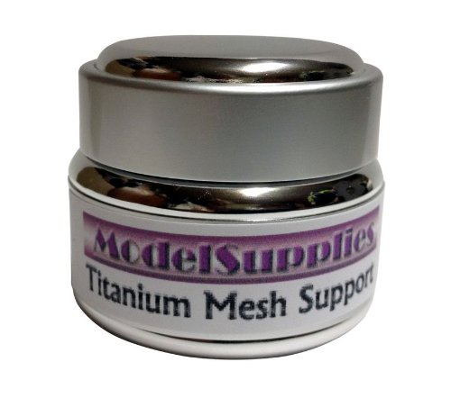 Antiaging Titanium Mesh Support W/ Stem Cells Syn~Coll Dmae Msm Vitamin C