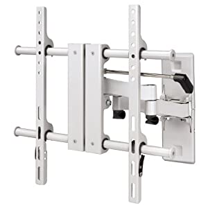 Hama TV-Wandhalterung Fullmotion neigbar, schwenkbar (vollbeweglich), für 58 - 127 cm Diagonale (23 - 50 Zoll), für max. 45 kg, VESA bis 400 x 400, weiß