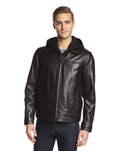 Vince Camuto Men's Bomber with Sweater Bib