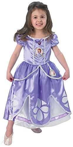 Rubie's - Costume per travestimento da Principessa Sofia, Bambina, 3-4 anni