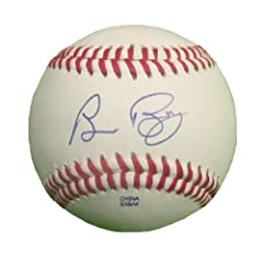 Bruce Bochy Autographed Signed ROLB Baseball. San Francisco Giants, San Diego Padres,...