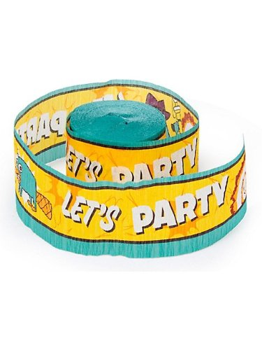 Phineas and Ferb 'Agent P' Crepe Paper Streamer (1ct)