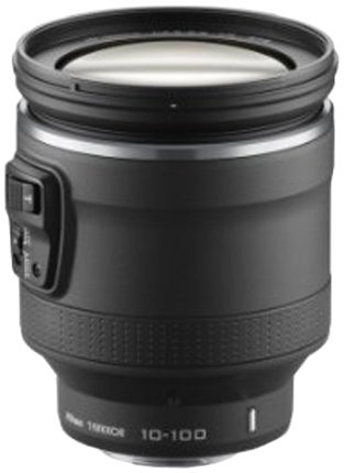 Nikon 1 NIKKOR VR 10-100mm f/4.5-5.6 PD-ZOOM Lens (Black)