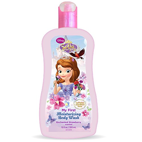 Sofia The First Enriching Body Wash, Strawberry, 12 Ounce