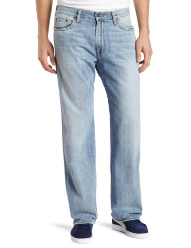Lucky Brand Men's 181 Relaxed Straight in Ol Refugio, Ol Refugio, 33x32
