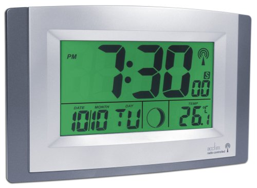 Acctim Stratus Smartlite Wall/Desk Clock