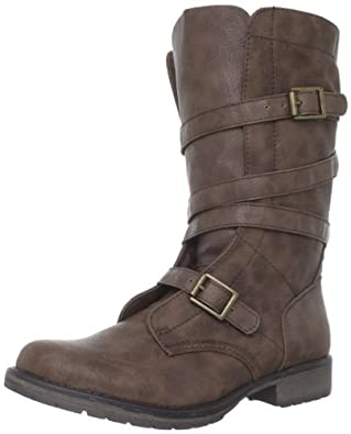 Madden Girl Women's Raszcal Boot,Brown Paris,5.5 M US