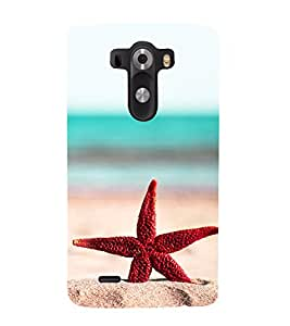 Vizagbeats Star Back Case Cover for LG G3::LG G3 D855