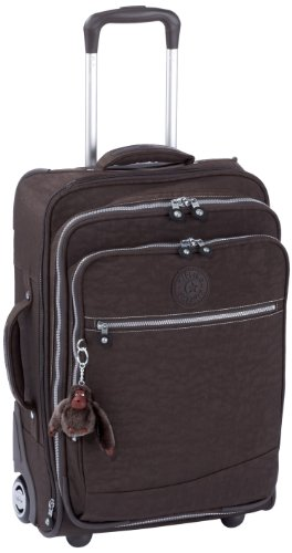 Kipling Women's Nevada Expandable Trolley/Cabin Size Expresso Brown K13096740 Medium
