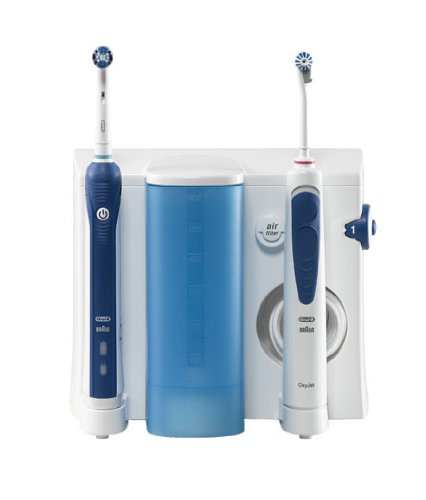 Professional Care Center 3000 brushing system and dental water jet