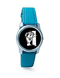 BigOwl The Composed Reality Painting Women's Analog Wrist Watch 2115074536-RS2-S-TEA