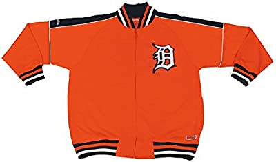 MLB Detroit Tigers Contrast Shoulder Track Jacket