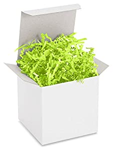 Crinkle Paper - 40 lb, Lime Green