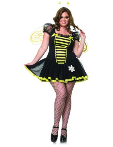 Daisy Bee 3X-4X Adult Womens Costume