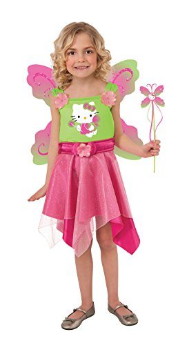 Hello Kitty Pink Butterfly Fairy Dress-Up Outfit