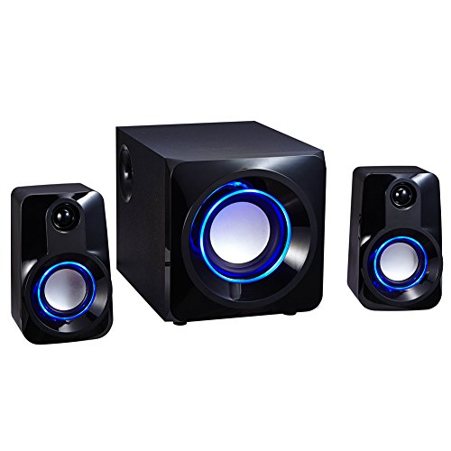 yunmei jh2 subwoofer 2 1 lautsprecher soundsystem pc home desktop stereo speaker unterstuezung. Black Bedroom Furniture Sets. Home Design Ideas