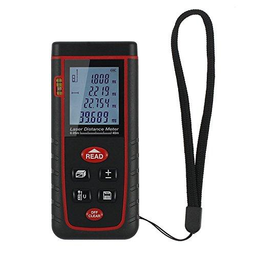 Laser-Entfernungsmesser-Proster-Entfernungsmessgert-Entfernungsmesser-Distanzmesser-Distanzmessgert-mit-LCD-Display-und-Wasserwaage-Messbereich-bis-zu-40m
