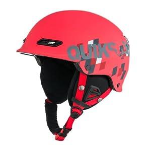 Quiksilver Men's Wildcat Helmet - Red, 56 cm