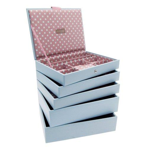 Pink Medium Stacker Jewellery Trays