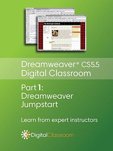 Dreamweaver CS5.5 Digital Classroom Video Series Part 1 - Dreamweaver Jumpstart