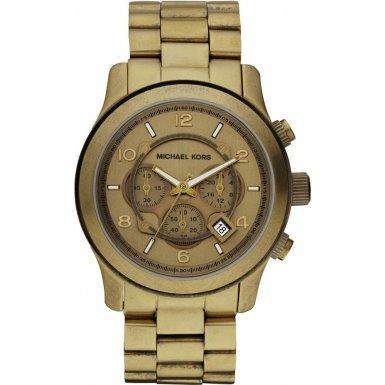 Michael Kors MK8227 Mens Bronze Chronograph Watch