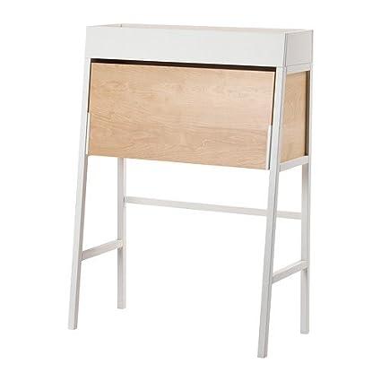 IKEA IKEA PS 2014 - Bureau, white, birch veneer - 90x127 cm