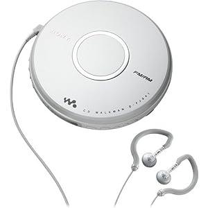 Sony D-FJ041 CD Walkman with AM/FM Tuner