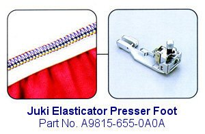 Juki Elasticator Serger Foot - A9815-655-0A0A (Juki Mo 655 compare prices)