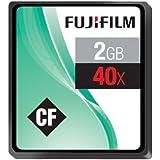 Fujifilm 2GB 40x Speed 6MB/sec Compact Flash Card