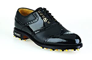 STUBURT DARREN CLARKE COLLECTION Men's Golf Shoe - Black, Size 7