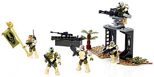 Mattel CND01 – Mega Bloks Halo – UNSC Feuerteam Sierra Kommando (155 Bausteine) [UK Import] kaufen
