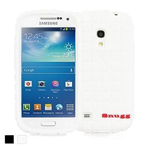 Snugg Galaxy S4 Mini Silicone Case in White - Non-Slip Material, Protective Lightweight Case for Samsung Galaxy S4 Mini