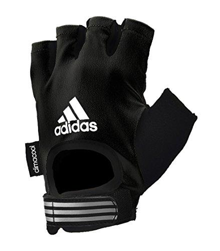 Adidas - Guanti da Fitness, Nero, L