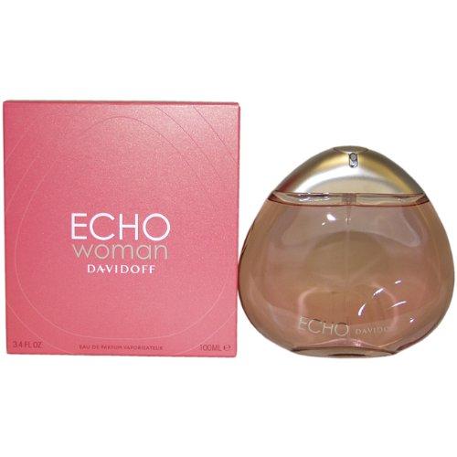 Zino Davidoff Echo Woman Eau De Parfum Spray for Women, 3.4 Ounce by Davidoff