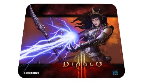 SteelSeries QcK Diablo III Gaming Mouse Pad - Wizard Edition (Diablo 3 Pad compare prices)