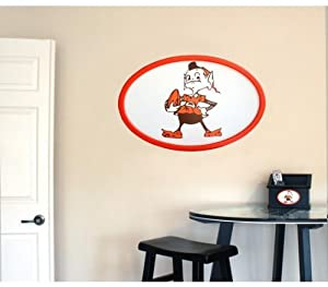 Cleveland Browns 31 inch Logo Wall Art by Fan Creations