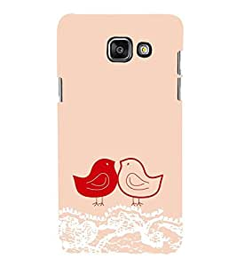 Vizagbeats Sparrow Pair Back Case Cover for SAMSUNG A7 2016